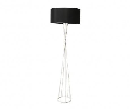 Podlahová lampa Scottie Black