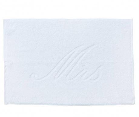 Πετσέτα ποδιών Mrs Style White 50x70 cm