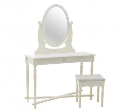 Set toaletni stolić i stolčić Martha
