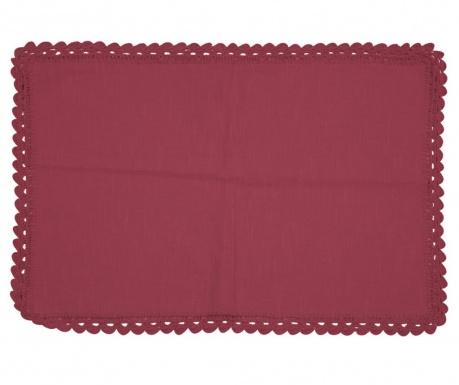 Подложка за хранене Crochet Bordeaux 35x50 см