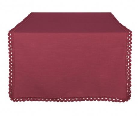Тишлайфер Crochet Bordeaux 50x140 см