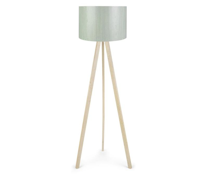 Lampadar Elisa White Brown Green