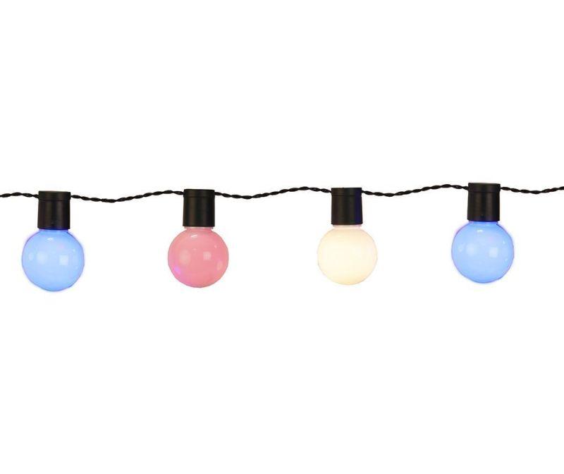 Zunanja svetlobna girlanda Party Ball Multicolor