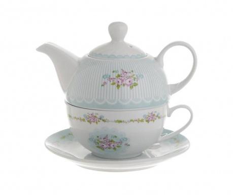 Set čajnik sa šalicom i tanjurićem Sorenta