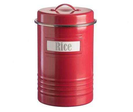 Recipient cu capac Vintage Kitchen Red 3.1 L