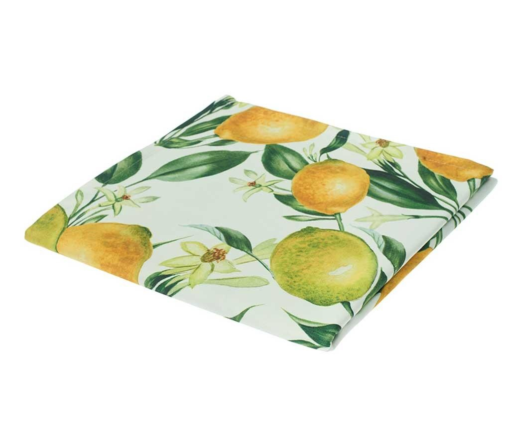 Namizni prt Lemons 140x140 cm