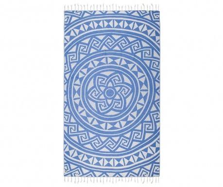 Πετσέτα μπάνιου Pestemal Mirabelle Blue 100x165 cm