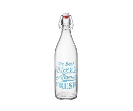 Fresh Water Blue Palack dugóval 1 L