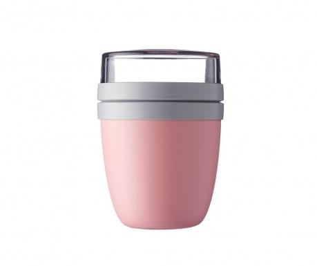 Dóza na oběd Ellipse Nordic Pink 700 ml