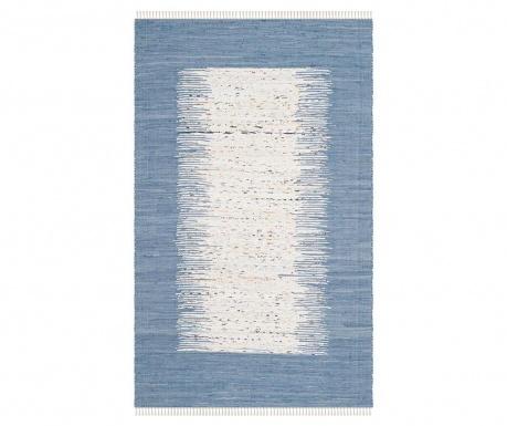 Saltillo Ivory Dark Blue Szőnyeg 121x182 cm