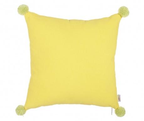 Clover Yellow and Green Párnahuzat 41x41 cm