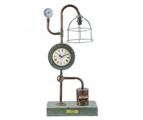 Lampa s hodinami Industrial