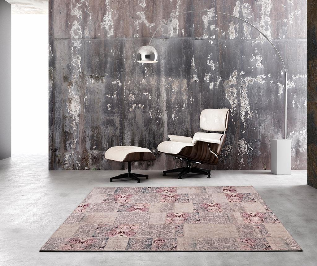 Preproga Alice Roses Grey 60x110 cm