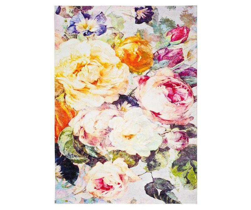 Tepih Chenille Floral 160x230 cm