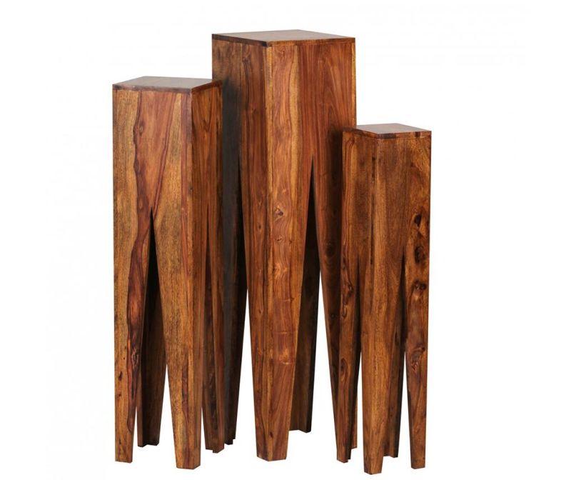 Set 3 suporturi pentru ghiveci Lavin Abstract Style
