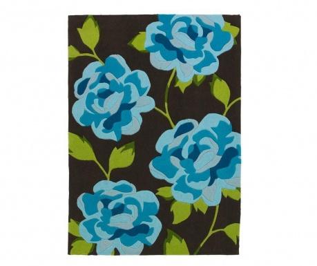 Dywan Hong Kong Brown Blue 170x120 cm