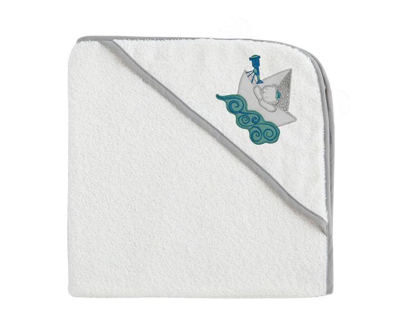 Kopalna brisača s kapuco Oso Barco 100x100 cm