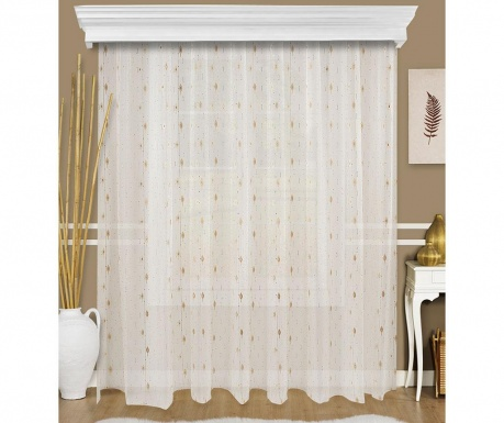 Záclona Fliner White and Brown 200x260 cm