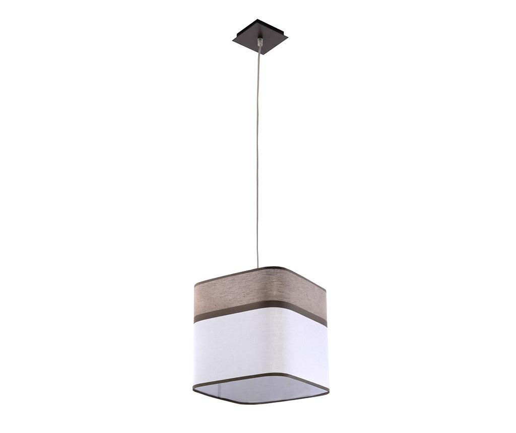 Závěsná lampa Costa Brown White