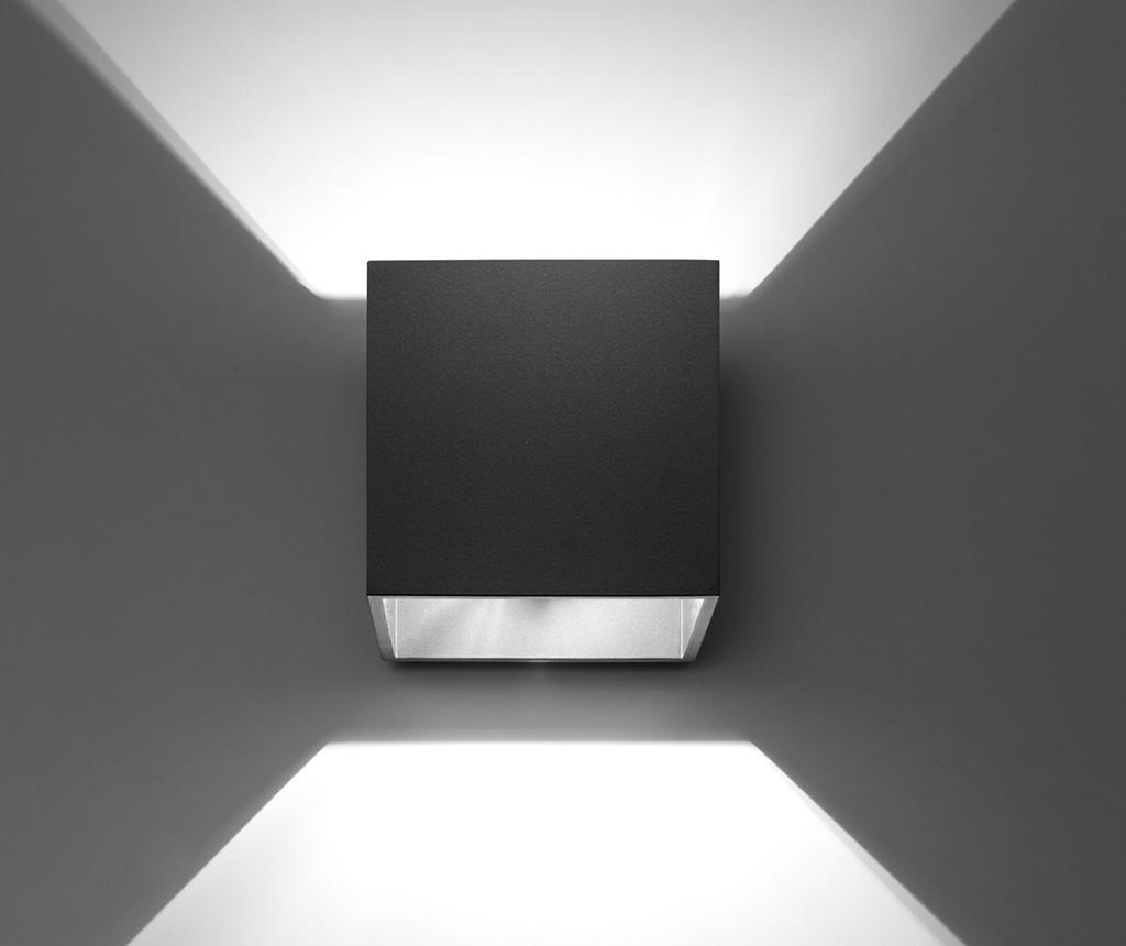 Nástěnné svítidlo Geo Black