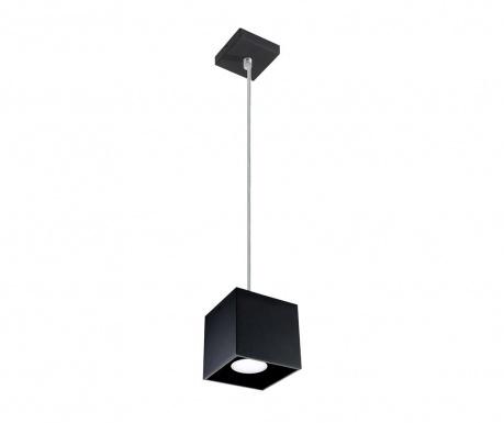 Závesná lampa Geo Black
