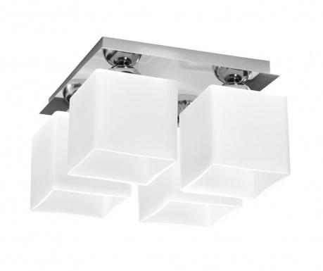 Stropná lampa Square Four White Chrome