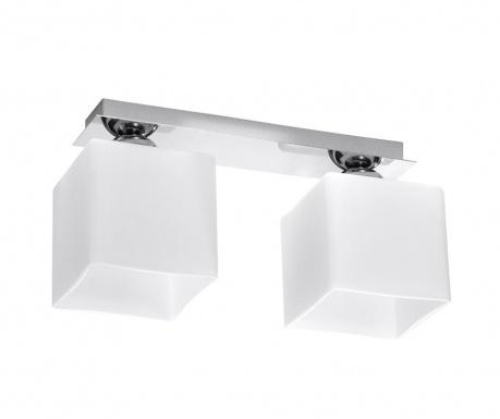 Stropná lampa Square Two White Chrome