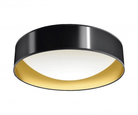 Stropná lampa Tiziano Black Golden