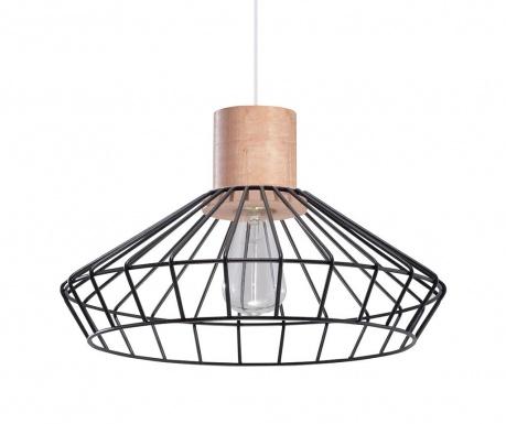Závesná lampa Avilla Black Natural