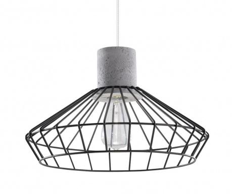 Závesná lampa Prato Black Grey