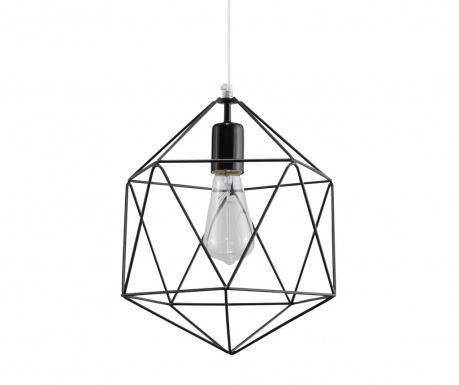 Závesná lampa Donato Black
