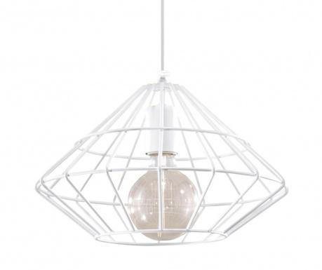 Závesná lampa Editta White