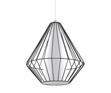Závesná lampa Alfredo Black