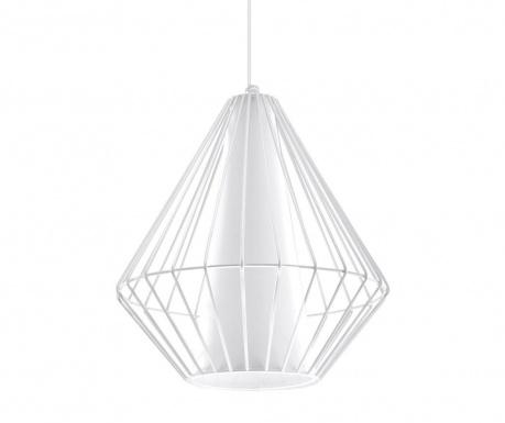 Závesná lampa Alfredo White