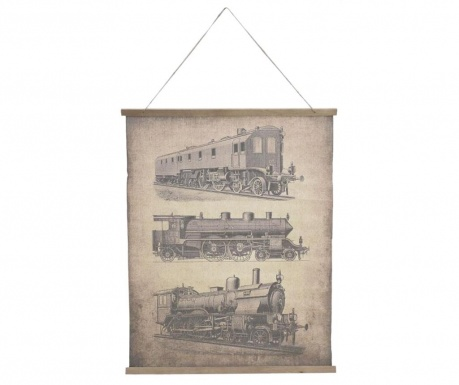 Decoratiune de perete Train Perspective