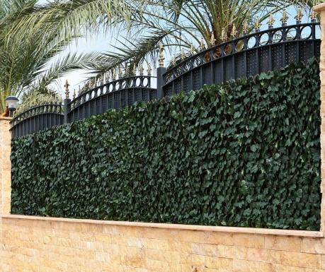 Ograda na razvlačenje od umjetnog bilja Photosynthesis