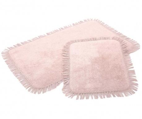 Zestaw 2 dywaników łazienkowych Axis Pink