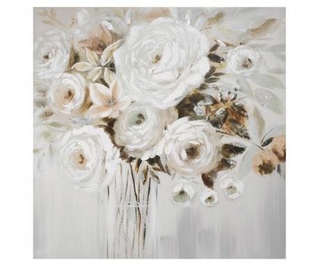Roses Bouquet Festmény 60x60 cm