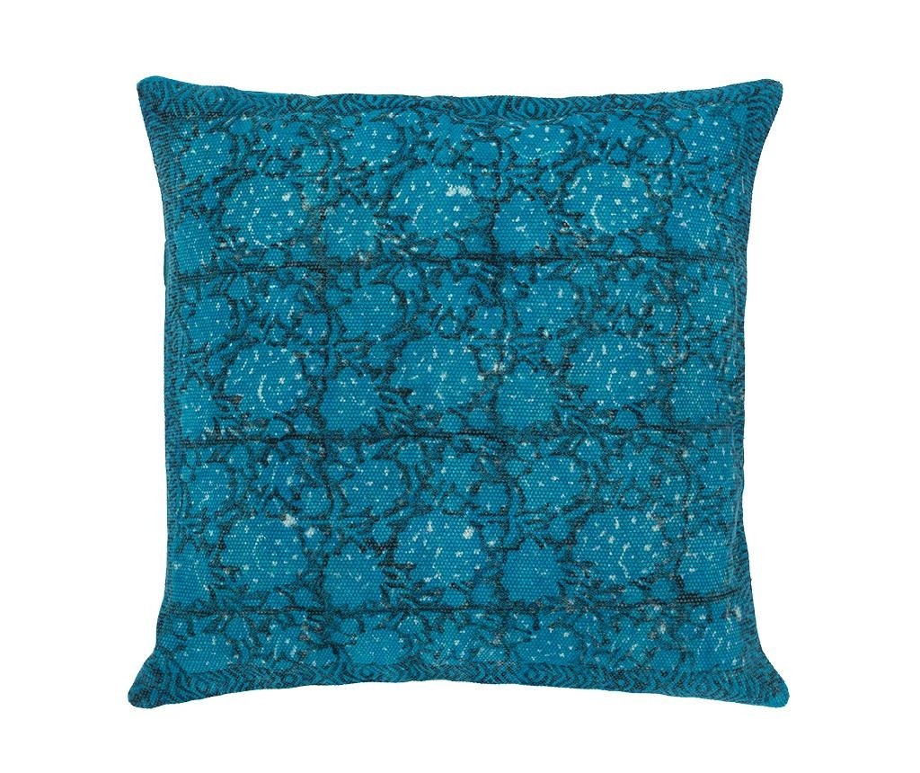 Perna decorativa Dali Fantasia Blue 60x60 cm