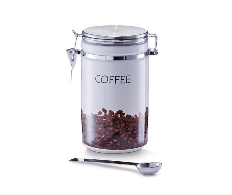 Set recipient cu capac  pentru cafea si lingurita Norene
