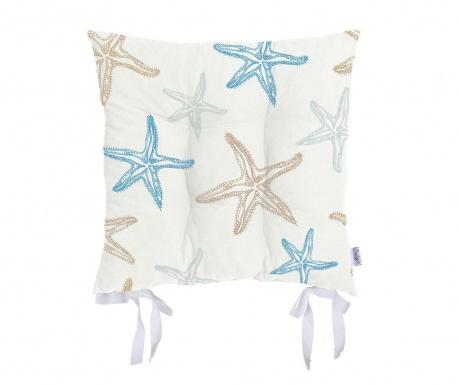 Възглавница за сядане Starfish Blue 37x37 см