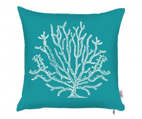 Калъфка за възглавница Coral Tall Blue White 43x43 см