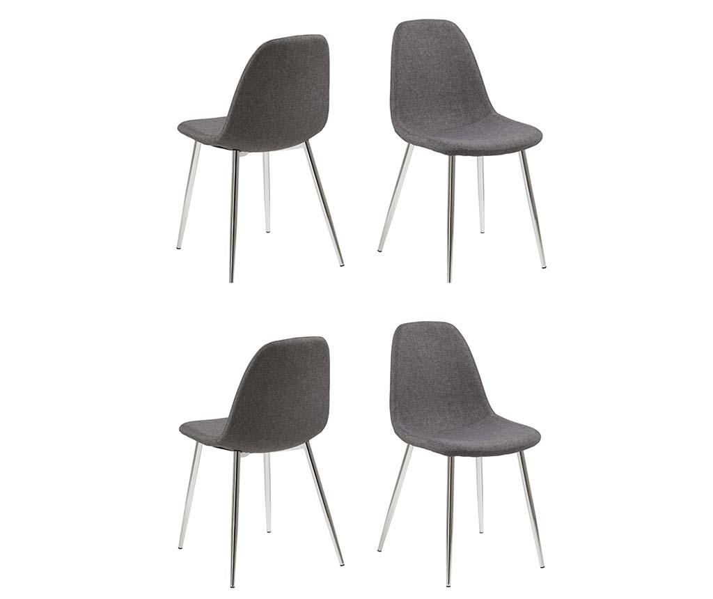 Sada 4 židlí Wilma