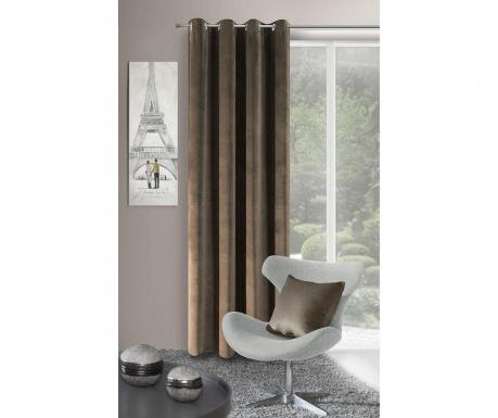 Draperia Velvet Brown 140x250 cm