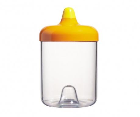 Δοχείο με καπάκι Mayday Orange 1 L