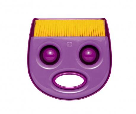Σετ βούρτσα και φαράσι Tokey Purple