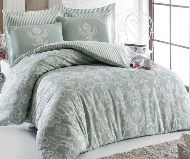 Спално бельо Double Ranforce Pure Green