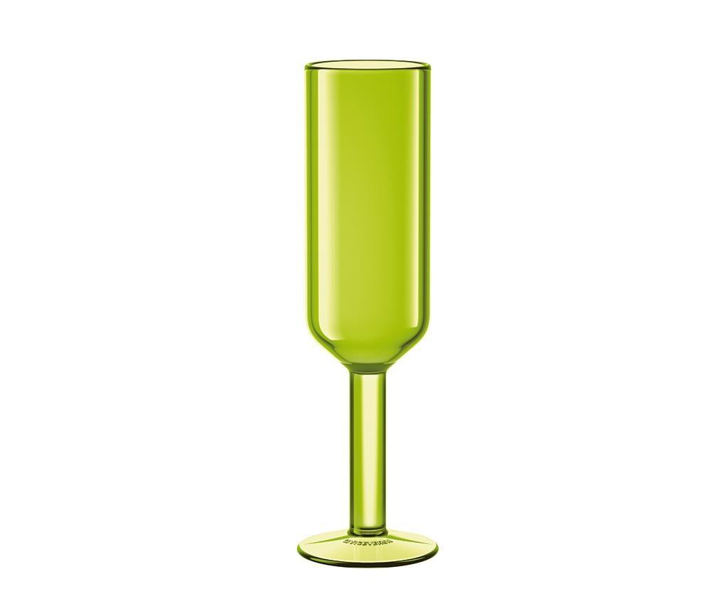 The Good Times Green Pezsgőspohár 160 ml