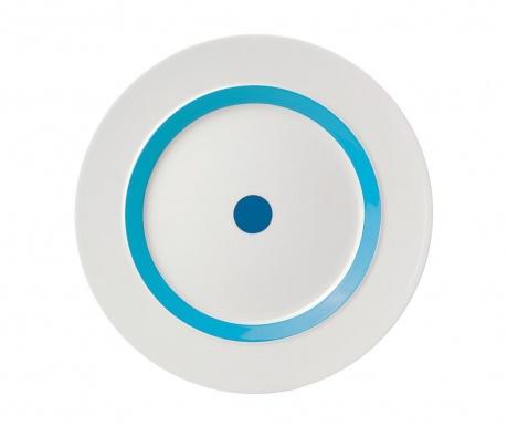 Plytký tanier The Dot Blue