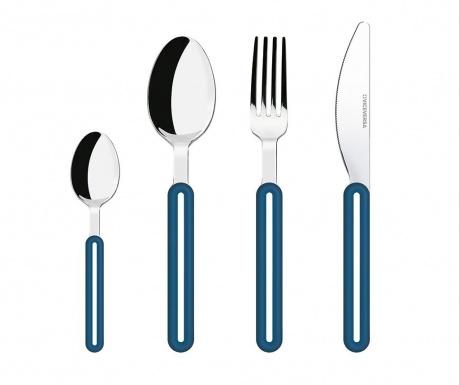 Σετ μαχαιροπήρουνα  4 τεμάχια Offset Blue